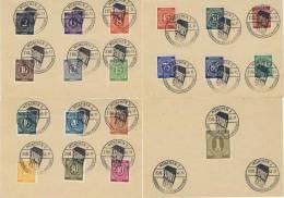 Lot Kontrollrat I gestempelt used Sonderstempel M�nchen Export Schau 1946