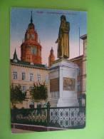 Mainz Gutenbergdenkmal Mit Dom - Mainz