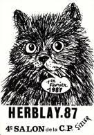 CPM CHAT ILLUSTRATEUR JC SIZIER BOURSE COLLECTIONS HERBLAY 95 CARTE PIRATE 32/ 150 SIGNEE SIZI ESCARGOT - Gatti