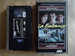 LA BALANCE / NATHALIE BAYE  //  VHS CASSETTES - Politie & Thriller
