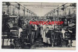 TRELON-Etablissement Achille FALLEUR Et Cie-Salle De Tissage-Animation-Industr Ie Textile-Metiers-Machines- Feldpost- - Unclassified