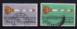 Zambia - 1973 - 3rd Commonwealth Conference Of Speakers (Part Set) - Used - Zambie (1965-...)