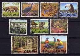 Zambia - 1975 - Pictorials (Part Set) - Used - Zambie (1965-...)