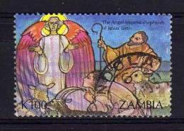 Zambia - 1992 - 100k Christmas - Used - Zambie (1965-...)