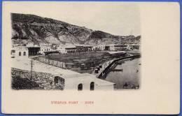 RAR! Republic Of Yemen (Jemen, Arabic), ADEN - STEAMER POINT, Very Old And Rare Card Around 1900 - Jemen