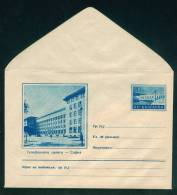 PS12330 /  Mint SOFIA - TELEPHONE PALACE  1955 KL5 DAM ELECTRICITY Stationery Entier Ganzsach Bulgaria Bulgarie - Ganzsachen