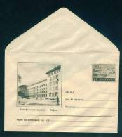 PS12332 /  Mint SOFIA - TELEPHONE PALACE  1955 KL5 DAM ELECTRICITY Stationery Entier Ganzsach Bulgaria Bulgarie MINT - Ganzsachen