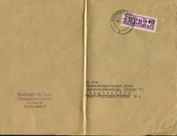 1957 DDR ZKD Dienstmarken Schwerin Briefe - [6] Democratic Republic