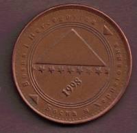 BOSNIE-HERZ 50 FENINGA 1998 - Bosnia And Herzegovina