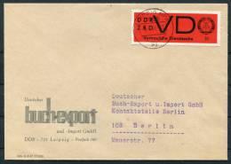 1968 DDR ZKD VD 3 Leipzig Dienstmarken Briefe X3 - [6] Democratic Republic