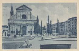 - FIRENZE - PIAZZA E BASILICA S.M.N.   VG 1941 BELLA FOTO D´EPOCA ORIGINALE 100% - Firenze (Florence)