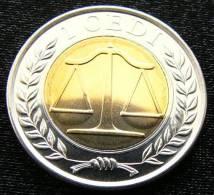 GHANA 1 Cedi 2007 Unc Bimetall - Ghana