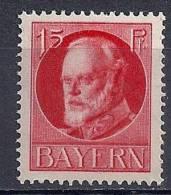 Bavière YT 114A* / Bayern Mi. Nr. 115A* Ungebraucht - Bayern