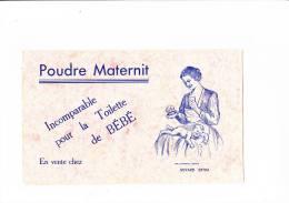 Buvard POUDRE MATERNIT Nourrice Et Bébé Rose - Parfums & Beauté