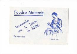 Buvard POUDRE MATERNIT Nourrice Et Bébé Bleu - Parfums & Beauté