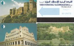 4 Cartes YEMEN - Jemen