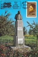 GEORGE ENESCU MONUMENT,CM,CARTES MAXIMUM,MAXICARD,1998,ROMANIA - Musique