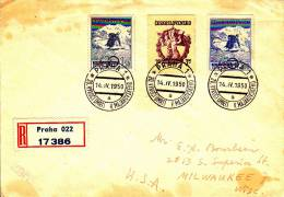 RECO BRIEF PRAHA 1950 - Ganzsachen