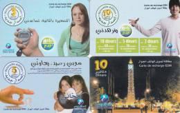 4 Cartes TUNISIE Lot4 - Tunisie