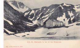 Grd. St. Bernard, Le Lac Et Les Hospices, Switzerland, 1900-1910s - Altri