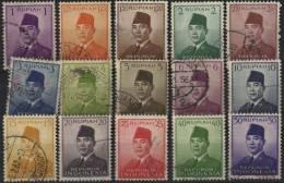 Indonesia. 37 Stamps - Indonesië