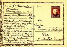 STATIONARY CARD  -  1944 - Storia Postale