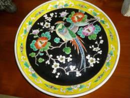 Superbe Assiette Ancienne - Asian Art