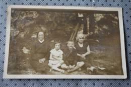 Corsica CPA En Photographie Privée:Famille Corse à La Campagne>verso Il Est écrit:So Roparata Calvi (Île-Rousse?)balagne - Fotos