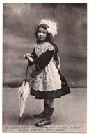 Cpa - Costume Fillette De Chateaulin - Pont-de-Buis - La Faou - Argol - Dineault - Port-Launay - Costumes
