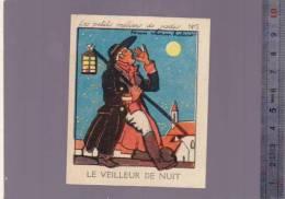 Image Phosphatine Falières - Asnières -petit  Metier De Jadis -  N°  5  Veilleur De Nuit - Autres