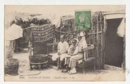 Carte Partie De BIZERTE-Famille Nègre 1911 - Tunisia