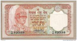Nepal - Banconota Non Circolata Da 20 Rupie - Nepal