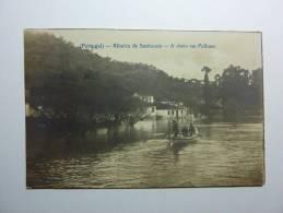 B860 * PORTUGAL. SANTARÉM. Ribeira De Santarém. Inundações Em Palhaes - Santarem