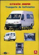 PORTUGUESE EDITION CITROEN JUMPER DISABLED VAN SINGLE PAGE CATALOGUE CAR VOITURE EDITION PORTUGAISE - Cars