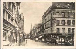 Cpa Caen 14 Calvados La Rue St Pierre - Caen
