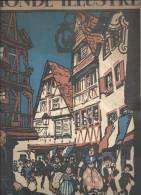 L´Alsace Et La Lorraine En Alsace Reconquise, Le 14 Juillet Edition Du 14 Septembre 1918 Avec Des Illustrations De Hansi - Histoire
