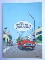 CARTE Postale SPIROU N°53 - SUPPLEMENT AU JOURNAL 1985 COUVERTURE DU RECUEIL 71 FRANQUIN - Cartoline Postali