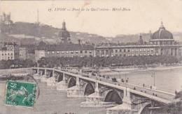 France Lyon Pont de la Guillotiere Hotel Dieu 1909