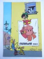 CARTE Postale SPIROU N°66 - SUPPLEMENT AU JOURNAL 1986 COUVERTURE DU RECUEIL 85 FRANQUIN - GASTON LAGAFFE - MARSUPILAMI - Tarjetas Postales