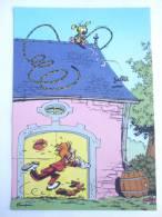 CARTE Postale SPIROU N°68 - SUPPLEMENT AU JOURNAL 1986 COUVERTURE DU RECUEIL 87 FRANQUIN - MARSUPILAMI - Tarjetas Postales