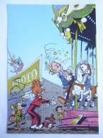CARTE Postale SPIROU N°69 - SUPPLEMENT AU JOURNAL 1986 COUVERTURE DU RECUEIL 88 FRANQUIN - MARSUPILAMI - Tarjetas Postales