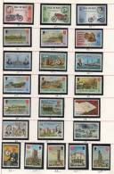 Collection De Timbres Neufs De L´ile De Man - Période 1975/85 Valeurs 145€ - - Sammlungen (im Alben)