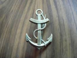 Ancre De Marine Pour Casque Modele Colonial Mle 1931 - 1939-45