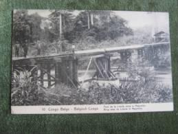 Congo Belge-Belgisch Congo-Pont De La Lukula Dans Le Mayumbe - Congo Belga - Otros