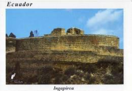 Lote PEP179 Ecuador, Postal, Postcard, Ingapirca, Inca Site,  Indigenous Activities, Actividades Indigenas - Ecuador