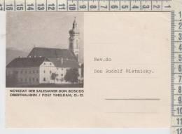 Basse Austria  Oberthalheim  Noviziat Der Salesianer Don Boscos Cartolina Postale - Österreich