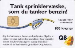 Denmark, DD 092, Q 8, Only 7000 Issued, 2 Scans. - Danemark