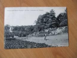 Y6X  87 - HAUTE VIENNE - LE PALAIS Sur VIENNE     LE PALAIS  La Tour , L Escalier Du Chateau  ANIMEE - France