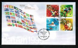 CANADA, 1999, OFDC # 1804a, PAN AM GAMES     MNH - Premiers Jours (FDC)