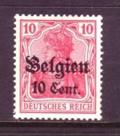 German Occupation Belgium N 14  * - Occupation 1914-18